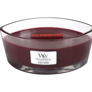 Black Cherry WoodWick Candle 16 oz. HearthWick